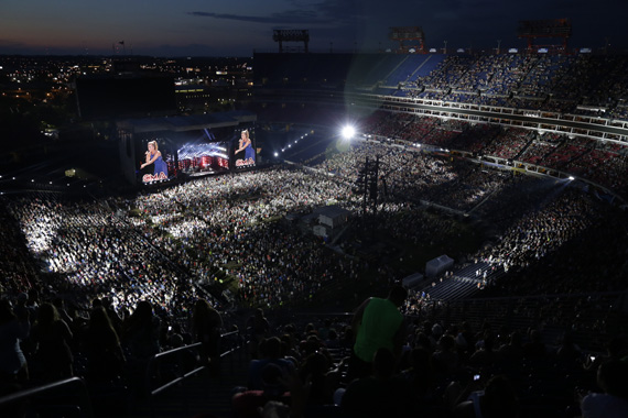 CMA Music Festival has set a new attendance record with 87,680 fans attending the event daily. Tickets to the 2016 Nightly Concerts at LP Field go on sale to the public Friday, June 19. Photo: Dusty Draper/CMA