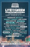 Live On The Green Series To Culminate With Three-Day Festival