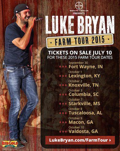 luke bryan farm tour