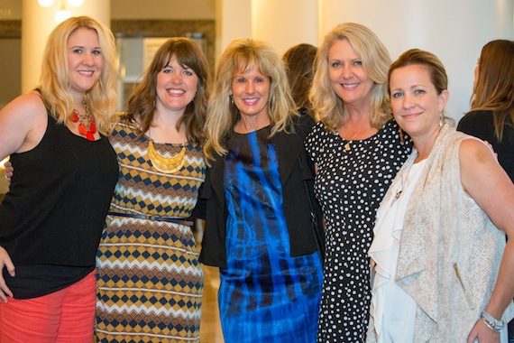 In the photo from l – r: Jennifer Witherell (Big Enterprises), Becky Gardenhire (WME), Laura Heatherly (TJ Martell), Tinti Moffat (TJ Martell), Kerry Hansen (Big Enterprises).