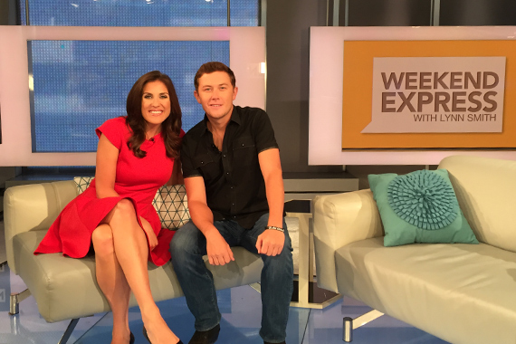 Pictured: (L-R): HLN's Lynn Smith, McCreery