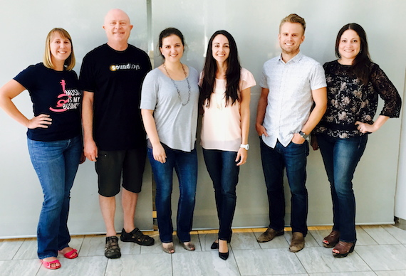 Pictured (L-R): WMBA Events & Education Co-Chair/Compass Records Group's Stacy Scism, Earl, Cook, Wolczyk, Logan and WMBA President/ASCAP's Alison Toczylowski.
