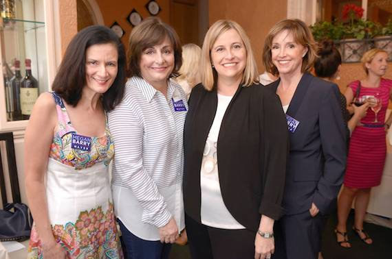 Pictured (L-R): Leslie Fram, Nancy Shapiro, Megan Barry, and Mary Ann McCready.  Not pictured:  Debbie Linn. Photo: Clark Thomas