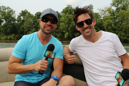 Cody Alan and Jake Owen