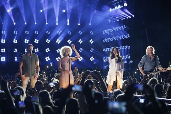 """Reigning CMA Vocal Group of the Year Little Big Town returns to host """"CMA Music Festival: Country's Night to Rock"""" for the third time. The special airsTuesday, Aug. 4 on the ABC Television Network. Photo: Hunter Berry / CMA"""
