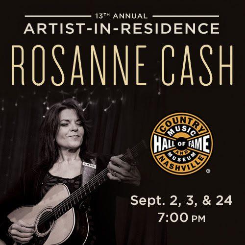 rosanne cash hall of fame