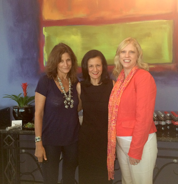 (L-R): Tracy Gershon, Leslie Fram and Beverly Keel