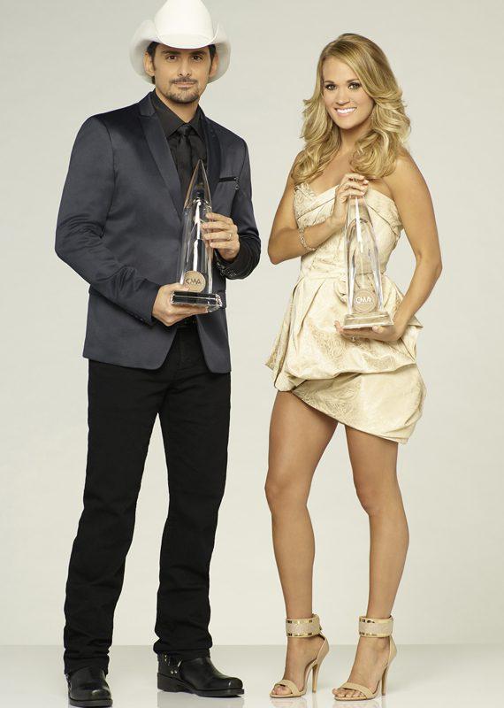 Brad Paisley, Carrie Underwood.