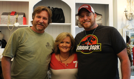 Pictured (L-R): Jon Mabe, Connie Harrington, Lance Carpenter.