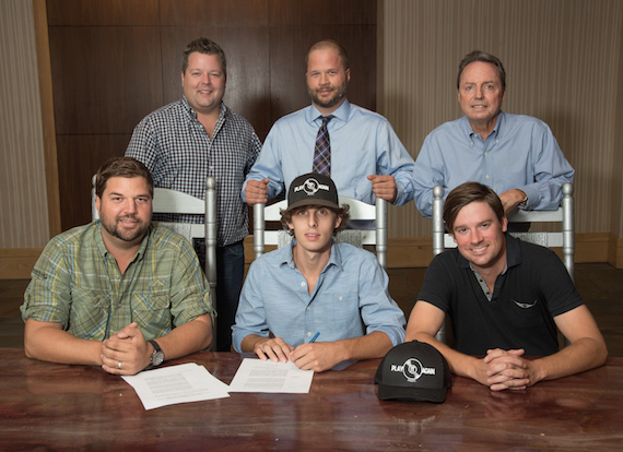 Top (L-R): Bradley Collins (BMI), Charles Davidson, Jody Williams (BMI). Bottom (L-R): Dallas Davidson (Pres. PIAP), Trea Landon, Austin Marshall (Exec. VP PIAP).