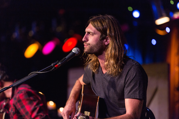 Ryan Hurd performs during the CMA Songwriters Series Thursday night at Joe's Bar in Chicago Photo Credit: Justin Harris / CMA