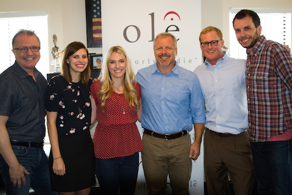 L-R: Gilles Goddard (Vice President, Corporate Affairs and Development), Emily Mueller (Manager), Shellien Kinsey (Coordinator), Mike Whelan (Senior Director), John Ozier (General Manager), Ben Strain (Director)