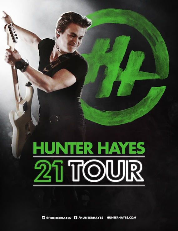 Spotify Helps Hunter Hayes Map Tour : MusicRow – Nashville ...