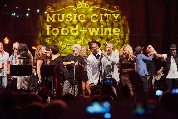 Food + Wine finale with Michael McDonald, Sam Moore, Jewel, Kings of Leon and many more.