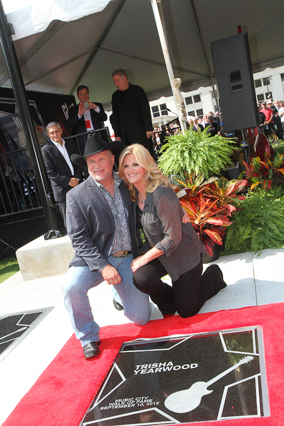 Garth Brooks and Trisha Yearwood. Photo: Bev Moser/Moments By Moser