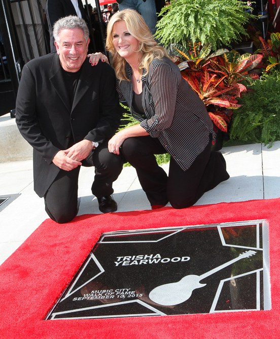 Ken Levitan and Trisha Yearwood. Photo: Bev Moser/Moments by Moser