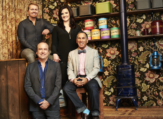 Pictured (from top left): Shane McAnally, Brandy Clark, Gary Griffin, Robert Horn. Photo: Sergio Garcia.