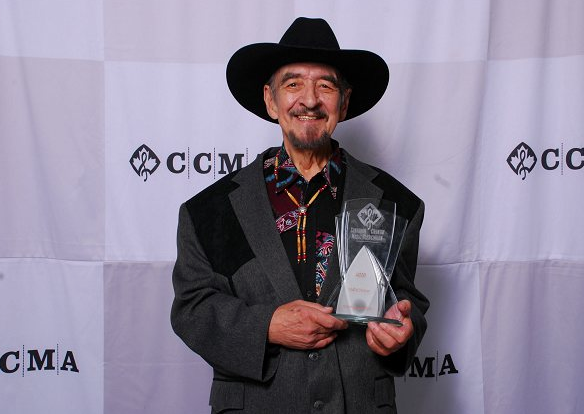Hal Willis at the 2010 Canadian Country Music Hall of Fame induction.