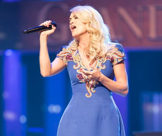 Carrie Underwood. Photo: Chris Hollo