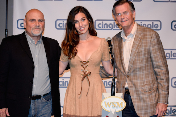 cingle label party Studio A and Rainey Qualley Opry Debut 8.28.15   Moments By Moser 31
