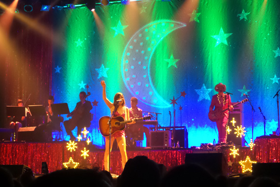 "Kacey Musgraves performs at the Ryman (Sept. 24, 2015), ""The Kacey Musgraves Country & Western Rhinestone Revue"" tour"