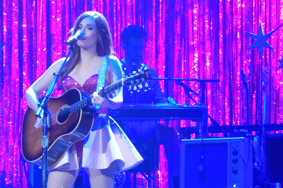 """Kacey Musgraves performs at the Ryman (Sept. 24, 2015), """"The Kacey Musgraves Country & Western Rhinestone Revue"""" tour"""