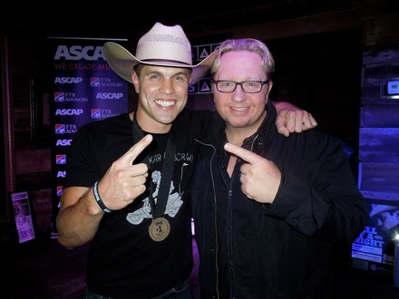 Pictured (L-R): Dustin Lynch, Mickey Jack Cones.