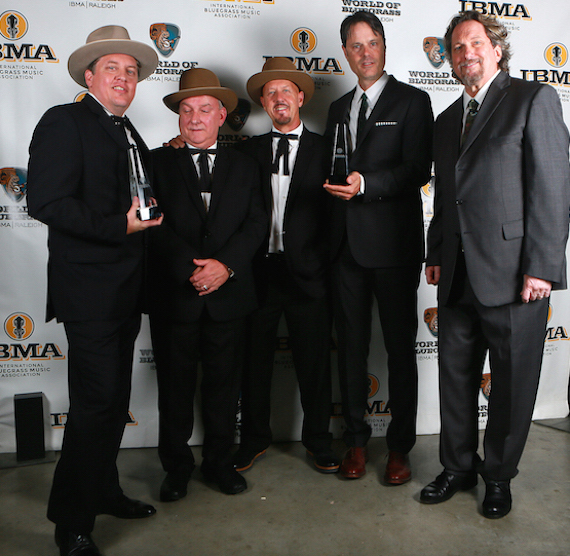 The Earls of Leicester at IBMA Awards in Raleigh, N.C. on Oct. 1, 2015. Photo: Dave Brainard