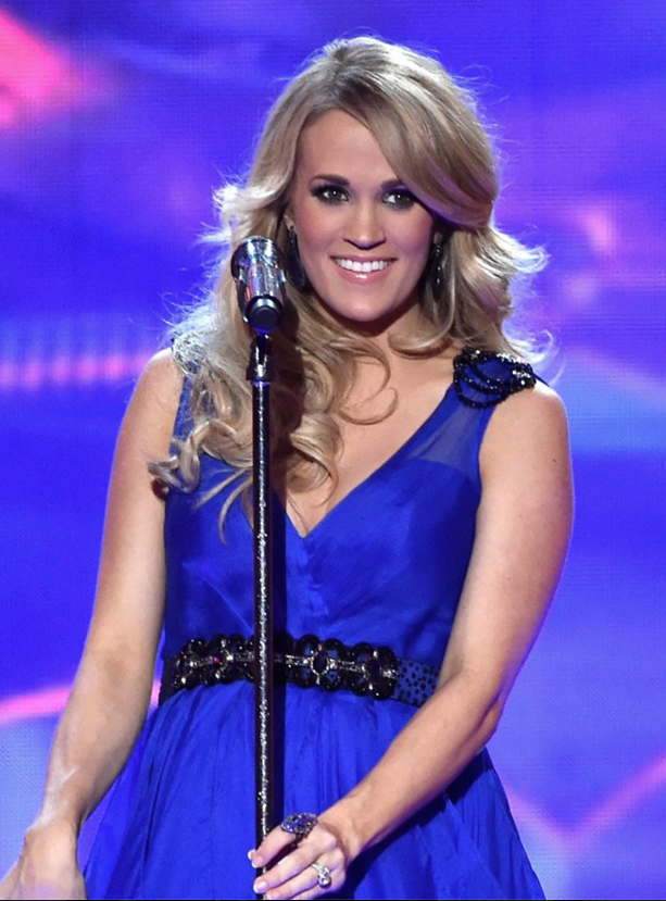 Carrie Underwood performs during the American Country Countdown Awards in 2014. Photo: ACC