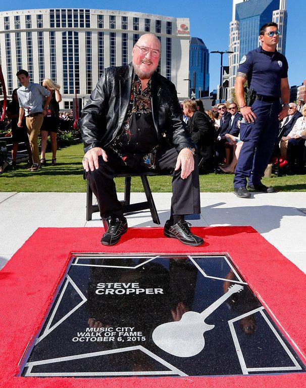 Steve Cropper Walk of Fame