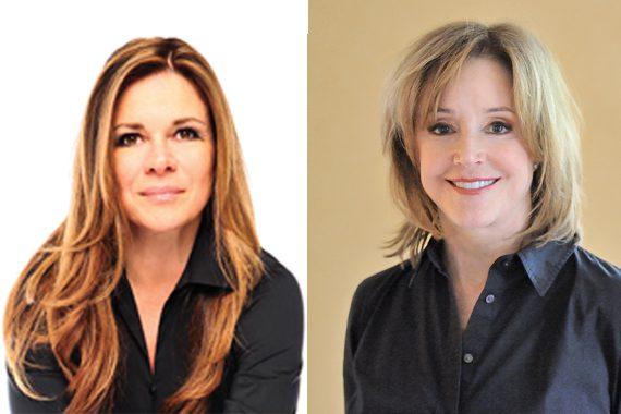 Lou Taylor (L), Mary Ann McCready (R)