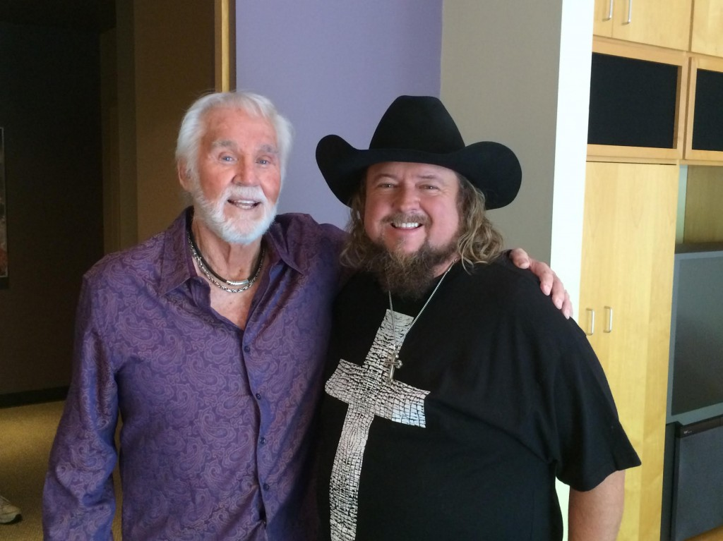 Pictured (L-R): Kenny Rogers, Colt Ford
