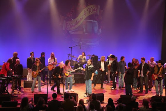 The Marshall Tucker Band headlines Christmas 4 Kids. Photo: Randi Radcliff