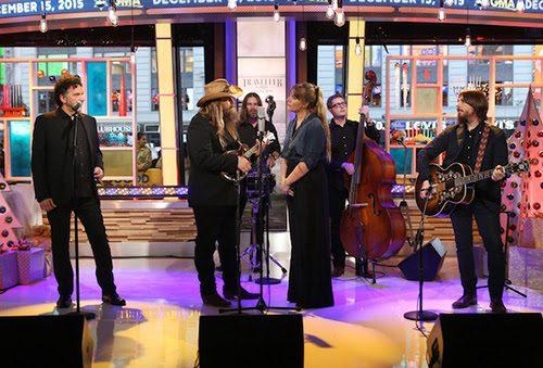 Chris Stapleton Performs on ABC's Good Morning America.
