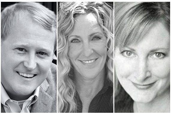 Pictured (L-R): John Ozier, Ree Guyer Buchanan, Kim McCollum-Mele