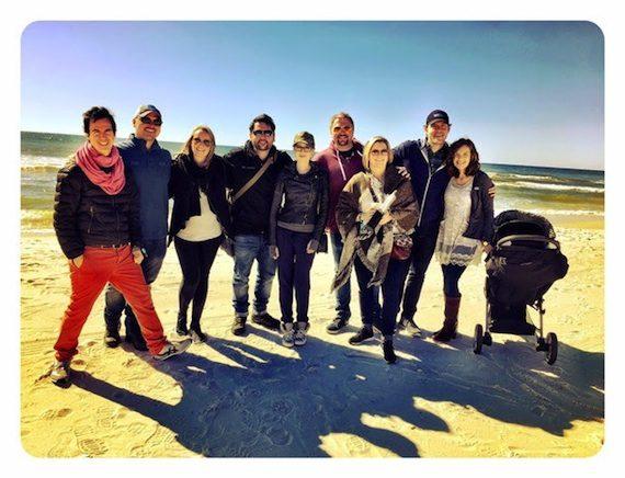 Pictured (L-R): JT Harding, Jon and Krystal Nite, Chris and Lauren DeStefano, Josh and Toni Osborne, Matt and Brittany Jenkins