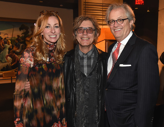 Pictured (L-R): Lisa Purcell, Country Music Hall of Fame and Museum; Tom Peterson, Cheap Trick; Kyle Young, CEO, Country Music Hall of Fame and Museum.