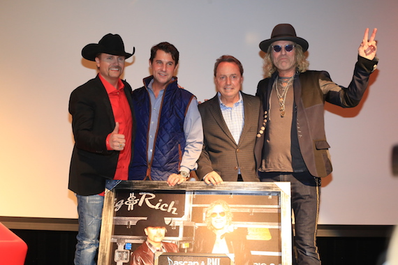 Pictured (L-R): John Rich, x, Jody Williams, Big Kenny.
