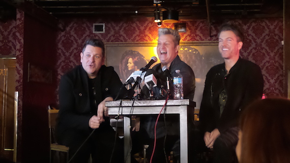 Pictured L-R: Jay Demarcus, Gary LeVox, Joe Don Rooney