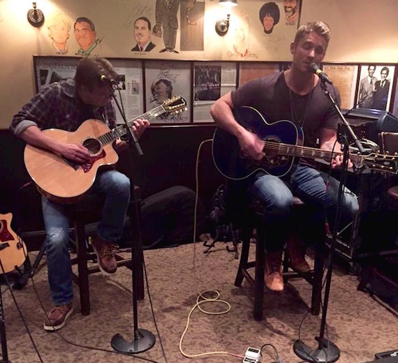 "Brett Young debuts at CRS with ""Sleep Without You."""