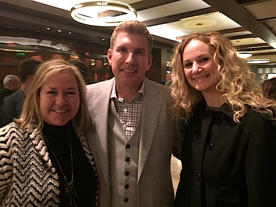 Pictured L-R: Diane Richey, Beth Robinson, Todd Chrisley