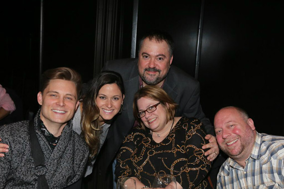 Pictured (L-R): Frankie Ballard, Anna Cage (Regional Promotion Manager), Chris Palmer (VP Promotion), Wendy Lynn (WYRK/Buffalo) and Dean Sarago (WYRK/Buffalo).
