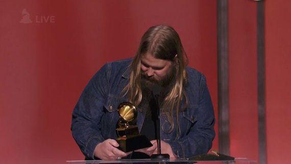 Chris Stapleton. Photo: Grammy.com
