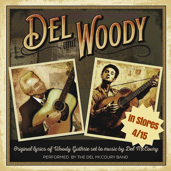 del and woody art with date