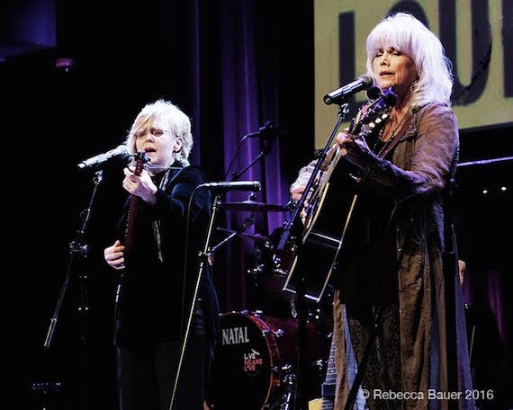 Emmylou Harris performs.