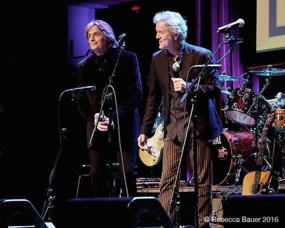 Pictured (L-R): Harry Stinson, Rodney Crowell