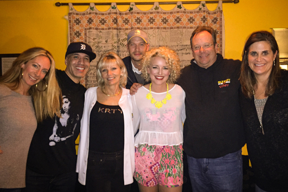 Pictured (L-R): Vanessa Kuhlman with KTOM's Sam Diggedy, KRTY's Tina Ferguson, Live Nation's Aaron Siuda, KRTY's Nate Deaton, Arista Nashville's new Manager, Regional Promotion, Lisa Owen.