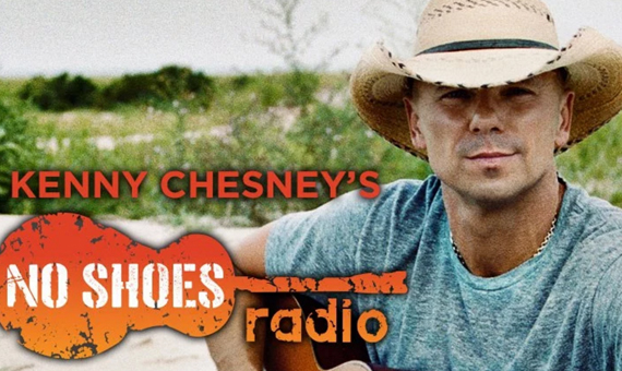 Kenny Chesney's No Shoes Radio. Photo: SiriusXM