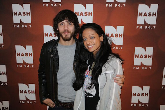 PHOTO ID: Country's Chris Janson with NASH FM 94.7'S Shila Nathan (Weekdays, 10AM-3PM).