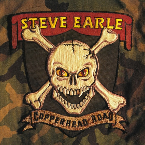 Steve Earle-Copperhead Road-cover art